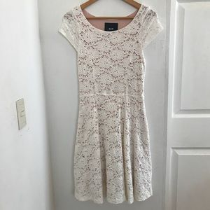 Anthropologie | White Lace Dress